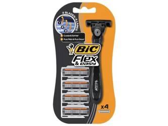 Bic Flex Hybrid 3 Maszynka 4 zapasy