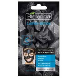 Bielenda Carbo Detox Maska węglowa oczyszczająca CSW 8g