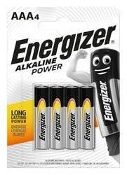 Energizer Bateria alkaliczna LR03 AAA 4szt