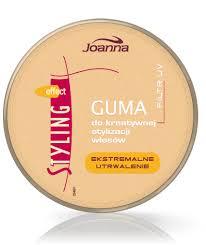 Joanna Styling Guma do kreatywnej stylizacji włosów 100g Złota