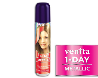 Venita 1-Day Color Metallic Red 50 ml