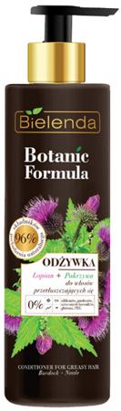 Bielenda Botanic Łopian+Pokrzywa Odżywka d/w przetłuszczających się 250ml