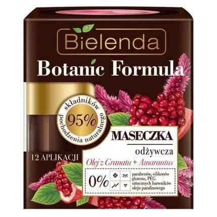 Bielenda Botanic O.Granat+Amarantus Maseczka odżywcza 50ml