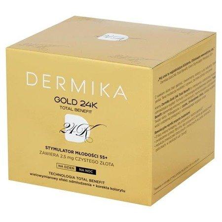 DERMIKA GOLD 55+ KREM DZIEŃ/NOC
