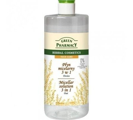 Green P.Płyn micelarny 3w1 Owies 500ml