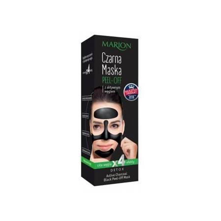 Marion Detox Maska czarna peel-off z aktywnym węglem 25g.
